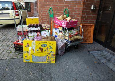 Spendenübergabe